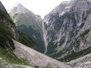 Zadnjiški ozebnik - uspon iz doline Zadnjice prema Prehodavcima