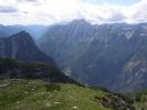 Dolina iz koje smo krenuli 1394 m ispod nas